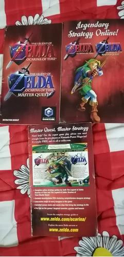 the legend of zelda ocarina of time & máster quest para gc