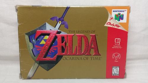 the legend of zelda ocarina of time n64 original com caixa