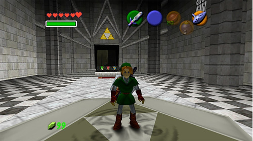 the legend of zelda ocarina of time para pc / computador