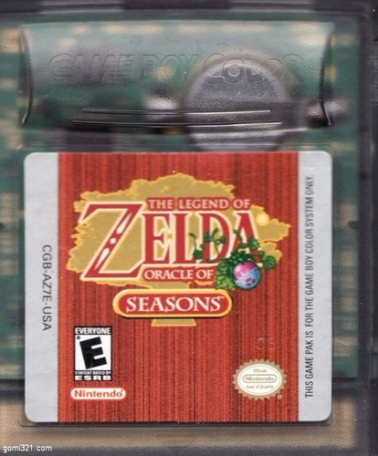 the legend of zelda oracle of seasons - gbc