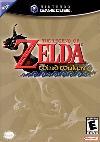 the legend of zelda the wind waker - gamecube