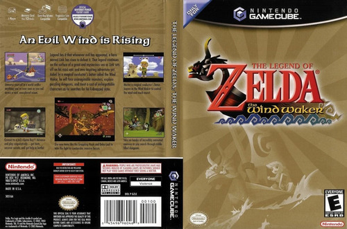 the legend of zelda the wind walker game cube wii