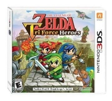 the legend of zelda triforce heroes - juego físico 3ds