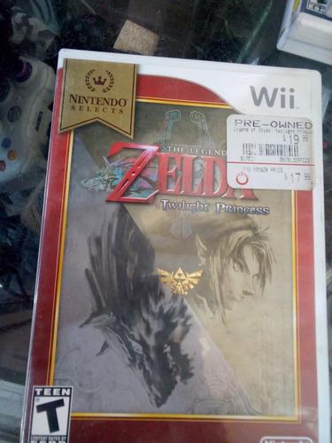 the legend of zelda twilight pr/ /juego nintendo wii & wii u