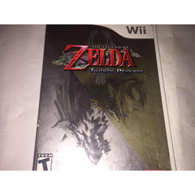 The Legend Of Zelda Twilight Princes Wii (cementerio De Los