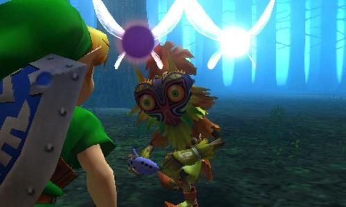 the legend zelda: majora's mask nintendo 3ds