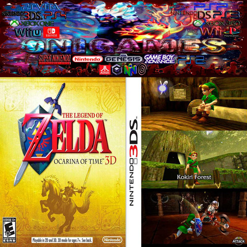 the legend zelda ocarina time 3ds