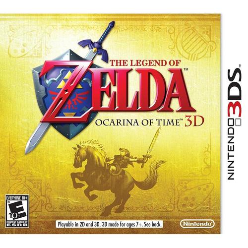 the legend zelda: ocarina time 3ds