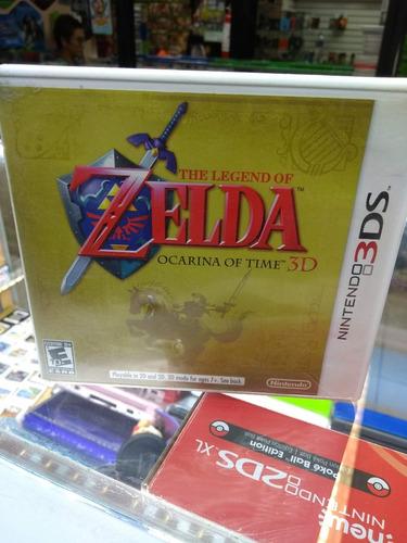 the legend zelda ocarina time nintendo 3ds
