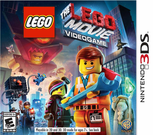 the lego movie videogame 3ds acepto cambios gxa