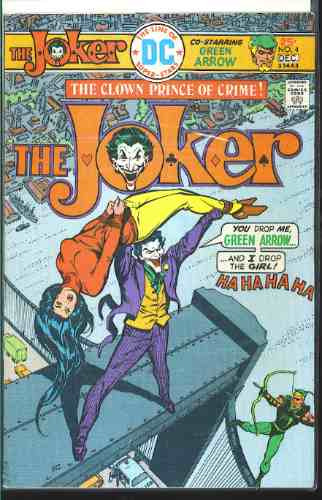 the line of dc super stars the joker no.4 series año 1975
