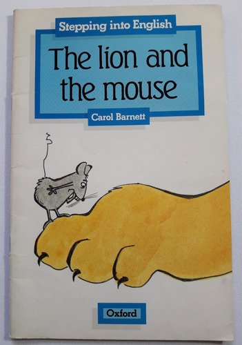 the lion and the mouse - editorial oxford - libro original