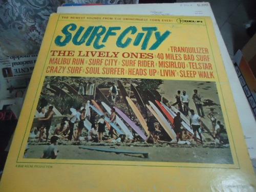 the lively ones lp. de 12 de 33 rpm surf city