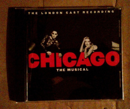 the london cast recording chicago the musical