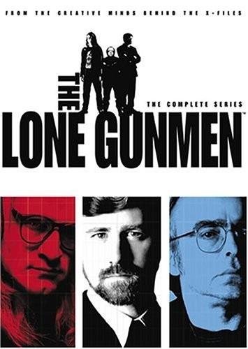 the lone gunmen coleccion completa  serie tv dvd