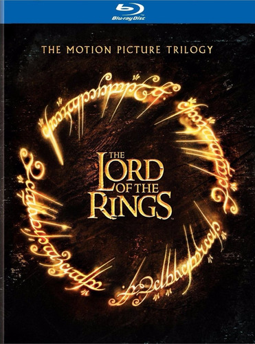 the lord of rings the motion picture trilogy blu ray