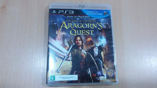 the lord of the rings aragorns quest ps3