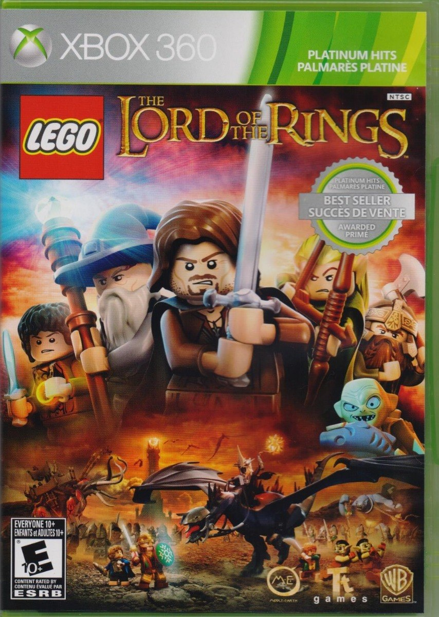 The Lord Of The Rings Lego Xbox 360 Juego Nuevo En Karzov 599 00
