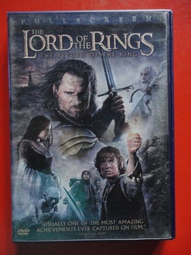 the lord of the rings - the return of the king - 2 dvds.