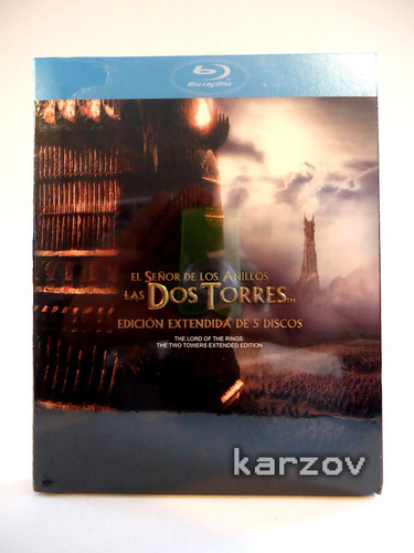 the lord of the rings the two towers extended blu-ray