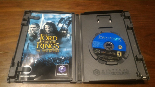 the lord of the rings two towers original nintendo gamecube