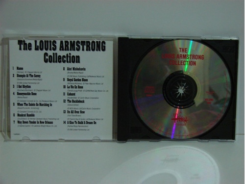 the louis armstrong collection vol 1 cd