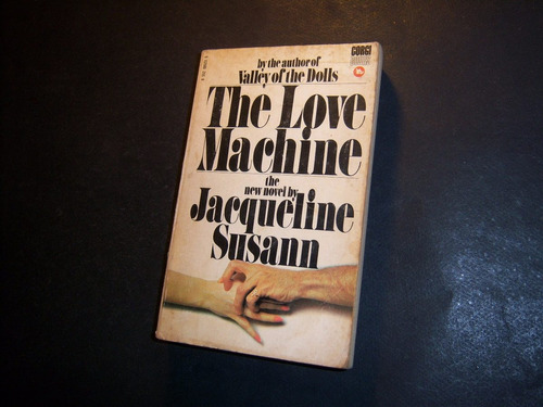the love machine. jacqueline susann . en inglés