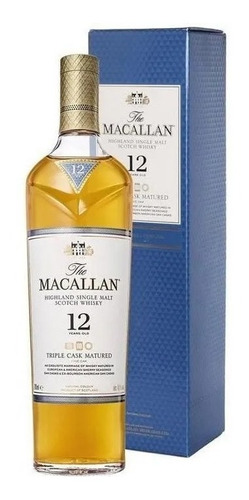 the macallan 12y - triple cask matured fine oak + presente