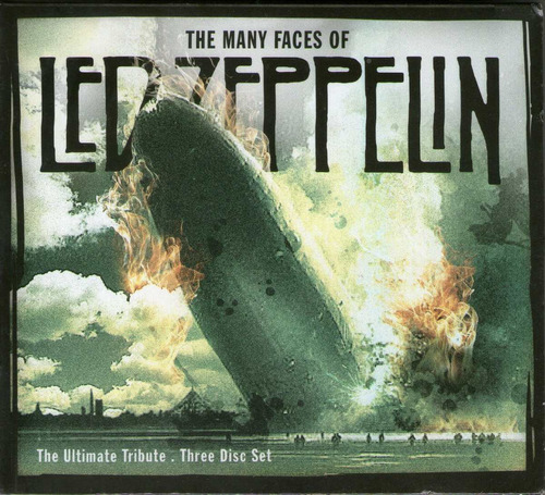 the many faces of led zeppelin ( 3 cd's sellado)