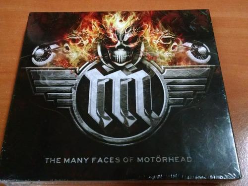 the many faces of motorhead, cd albun de 3 cd´s, del 2016.