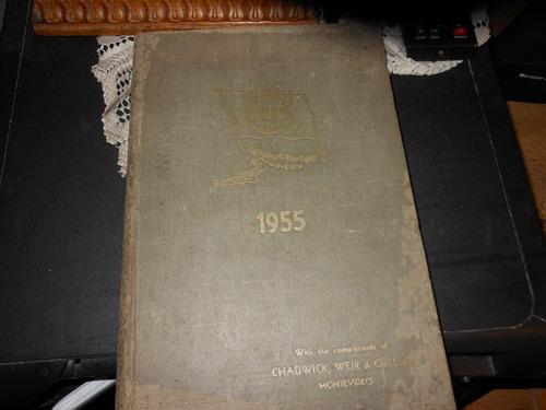 the mar year book  - 1955  river plate ma.nu..al