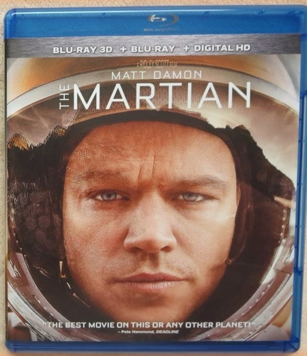 the martian [blu-ray 3d + blu-ray + digital hd] no slipcover