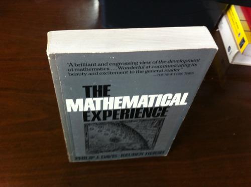 the mathematical experience davis & hersch experiencia matem