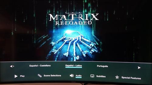 the matrix collection bluray latino 4 films