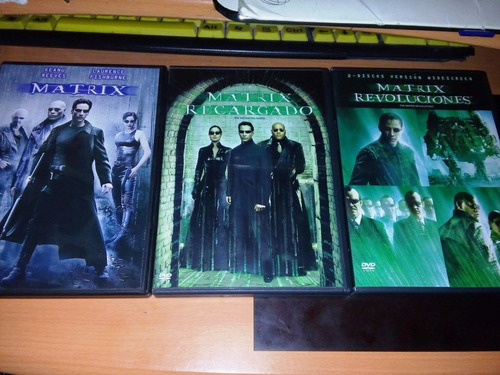 the matrix la colección en dvd