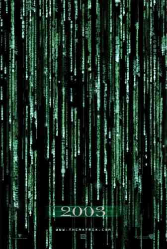 The Matrix Reloaded Code 3d Movie Poster - $ 4,988.88 en ...