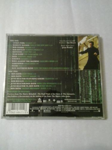 the matrix reloaded the album maverick