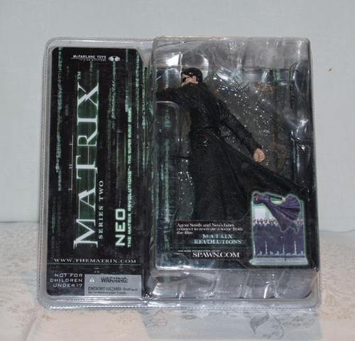 the matrix revolutions - neo 18 cms action figure