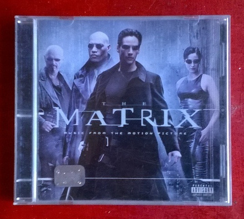 the matrix soundtrack cd varios artistas