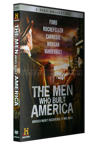 the men who built america - gigantes de la industria dvd