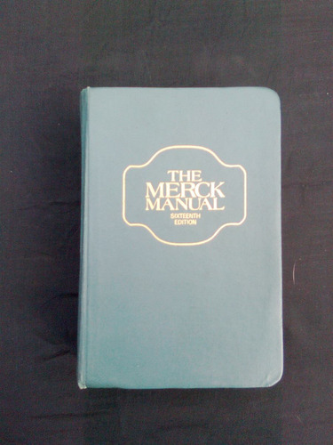 the merck manual, sixteenth edition
