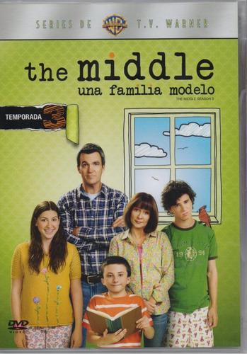 the middle una familia modelo tercera temporada 3 tres dvd