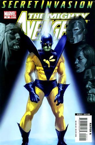 the mighty avengers #15 - bendis - romita jr. - inglés -