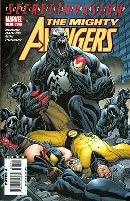 the mighty avengers #7 - bendis - bagley - inglés -