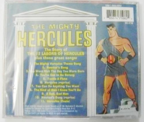 the mighty hercules original tv soundtrack  cd nuevo