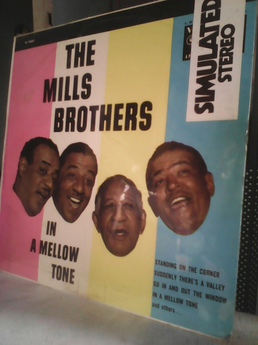 the mills brothers. in a mellow tone. lp.