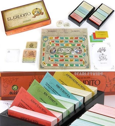 the mind + el erudito juego de mesa maldon scarlet kids