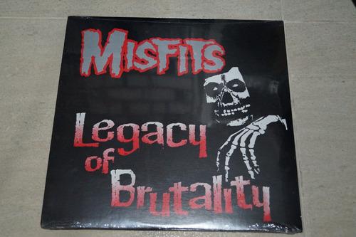 the misfits legacy of brutality vinilo rock activity