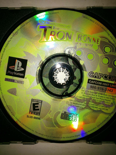 the miss adventures of tron bonne ps1