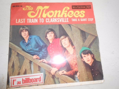 the monkees compacto duplo vinil 7  made in france